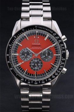 Omega Speedmaster Cheap Men's Sapphire Crystal Replica Watches Om4506