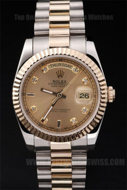 Rolex Daydate Greatest Men's stainless steel Replica Watches R4800