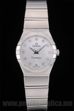 Omega Constellation The Newest Battery 30*27MM Replica Watches 80290