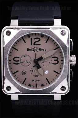 Bell & Ross Br-01-94 Luxury Men's Stainless Steel Replica Watches Be3460