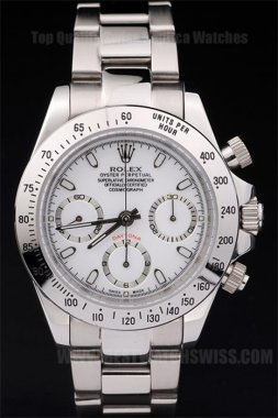 Rolex Daytona Best Men's stainless steel Replica Watches R54