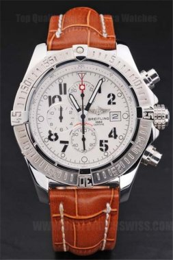 Breitling Avenger Best Men's Stainless Steel Replica Watches Br3498