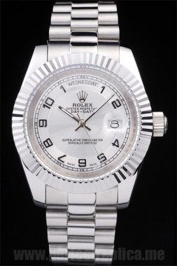 Rolex Daydate Well-Known Stainless Steel 48*39MM Replica Watches 4799