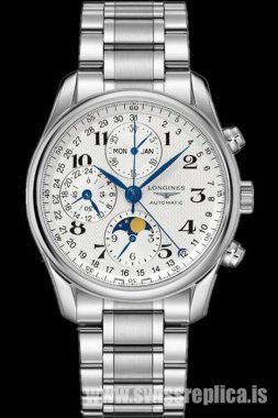 Longines Master Collection L2.673.4.78.6 Moonphase Chronograph