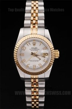 Rolex Datejust 90% Off Ladies' Sapphire Crystal Replica Watches R4725