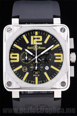 Bell & Ross Carbon Best Value Battery 50*44MM Replica Watches 3438