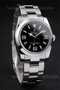 Rolex Explorer Cheapest Men's Stainless Steel Replica Watches R159