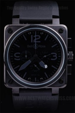 Bell & Ross Br-01-94 Cheap Men's Sapphire Crystal Replica Watches Be3468