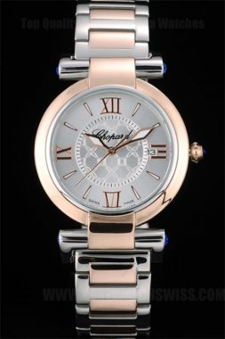 Chopard High Technology Men's 18k rose gold Replica Watches Ch3869