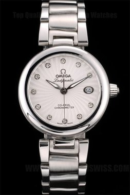 Omega Deville Best Value Ladies' Quartz Replica Watches Om4377