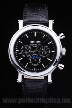 Patek Philippe Complicated Offer Sapphire Crystal 50*42MM Replica Watches 4619