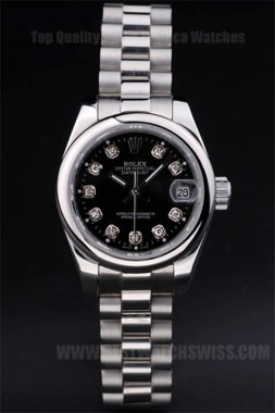 Rolex Datejust Quality Ladies' stainless steel Replica Watches R4740