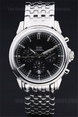Omega Deville Best Value Men's Automatic Replica Watches Om4411