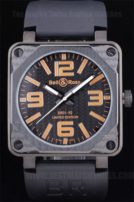 Bell & Ross Carbon 65% Off Men's Automatic Replica Watches Be3428
