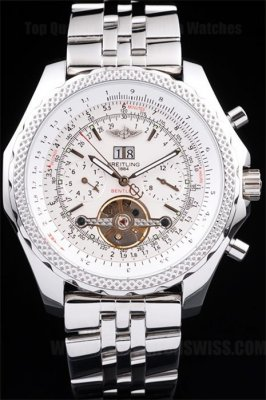 Breitling Bentley Quality Men's Stainless Steel Replica Watches Br3587