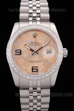 Rolex Datejust Top Quality Ladies' Sapphire Crystal Replica Watches R4667
