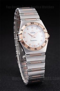 Omega Constellation 60% Off Ladies' Sapphire Crystal Replica Watches Om4479