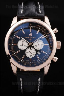 Breitling Navitimer Discount Price Men's 18k rose gold Replica Watches Br3599