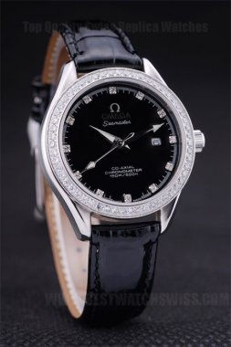 Omega Speedmaster 70% Off Ladies' Sapphire Crystal Replica Watches Om4500