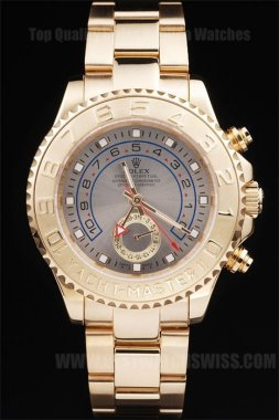Rolex Yachtmaster II Good Men's Sapphire Crystal Replica Watches R235