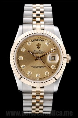 Rolex Daydate Cheap Price Flip Clasp 44*36MM Replica Watches 4807