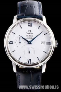 Omega De Ville Prestige Power Reserve Co-Axial Men's Leather 424.53.40.21.04.001