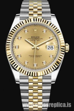 Rolex Datejust Two-Tones Steel And Yellow Gold 41mm 126333-0012