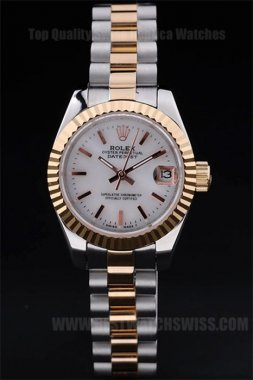 Rolex Datejust Top Ladies' sapphire crystal Replica Watches R4733