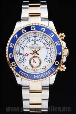 Rolex Yachtmaster II Quality Stainless Steel 48*42MM Replica Watches rl233