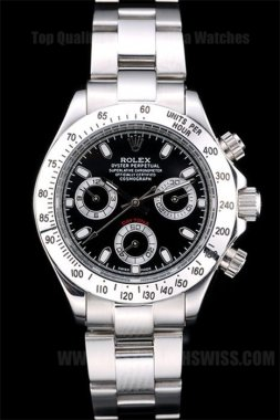 Rolex Daytona 65% Off Ladies' sapphire crystal Replica Watches R4844