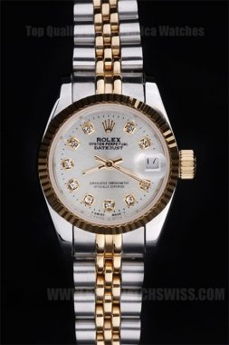 Rolex Datejust The Newest Ladies' Sapphire Crystal Replica Watches R4773