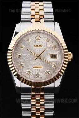 Rolex Datejust High Technology Men's 18K yellow gold Replica Watches R4788