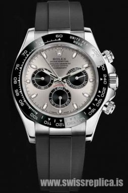 Rolex Cosmograph Daytona Automatic Steel Case Gray Dial M116519LN-0027