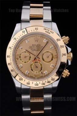 Rolex Daytona High Quality Men's Sapphire crystal Replica Watches R70
