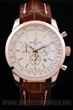 Breitling Navitimer Top Quality 18k rose gold 55*45MM Replica Watches 3609
