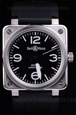 Bell & Ross Carbon Perfect Men's Sapphire Crystal Replica Watches Be3451