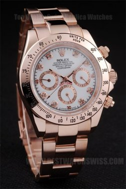 Rolex Daytona Hot Sale Men's 18k rose gold Replica Watches R4852