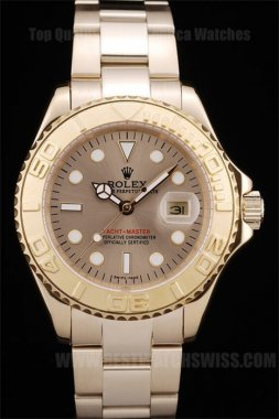 Rolex Yachtmaster II Top Quality Men's Sapphire Crystal Replica Watches R490