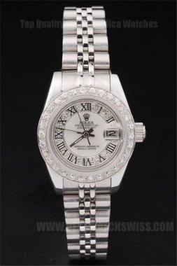Rolex Datejust Top Brand Ladies' Automatic Replica Watches R4715