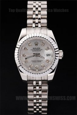 Rolex Datejust 80% Off Ladies' Sapphire Crystal Replica Watches R4714