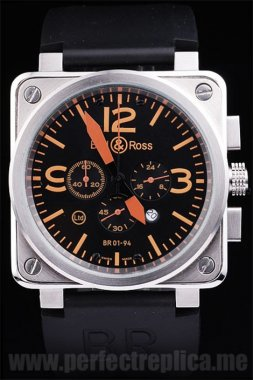Bell & Ross Br-01-94 Hot Sale Battery 44*44MM Replica Watches 3465