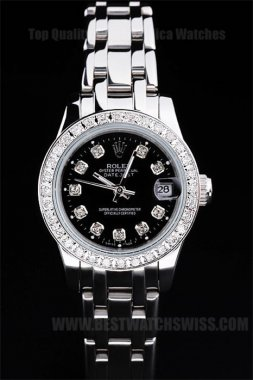 Rolex Datejust The Hottest Ladies' Stainless Steel Replica Watches R4783