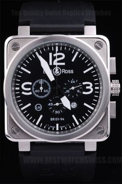Bell & Ross Br-01-94 Greatest Men's Sapphire Crystal Replica Watches Be3466