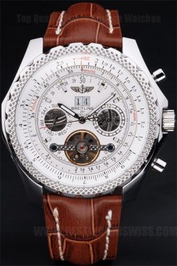 Breitling Bentley Professional Men's Stainless Steel Replica Watches Br3585