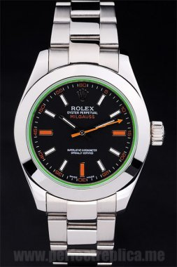 Rolex Milgaus Offer Sapphire Crystal 48*40MM Replica Watches rl191