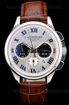 Chopard High Quality Men's Stainless Steel Replica Watches Ch3867