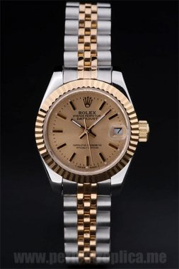 Rolex Datejust High Quality 18k yellow gold 34*26MM Replica Watches 4736