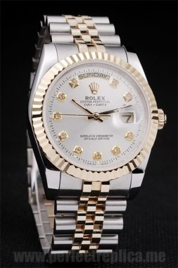 Rolex Daydate Best Value Stainless Steel 44*36MM Replica Watches 4806