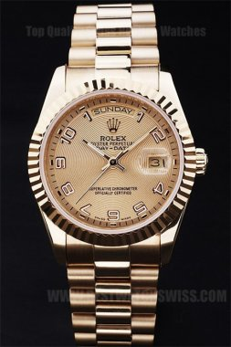 Rolex Daydate Best Value Men's stainless steel Replica Watches R4815