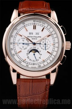 Patek Philippe Complicated discount price Automatic 53*42MM Replica Watches 4614